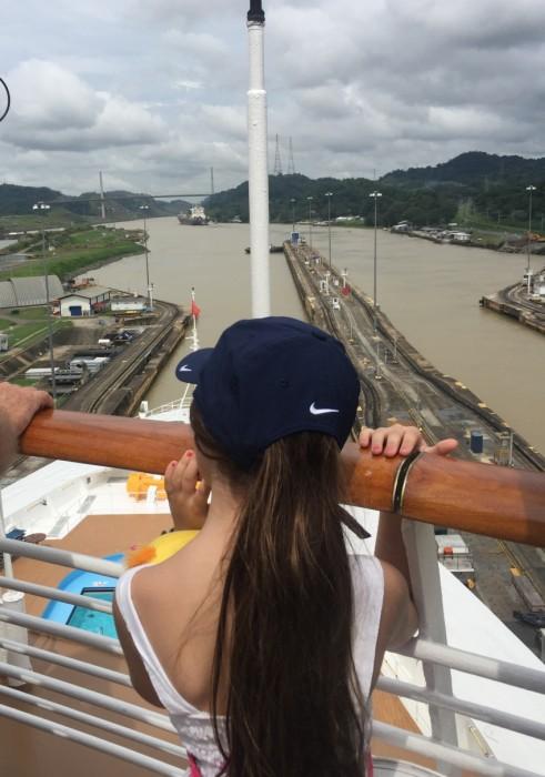 Atravessando o Canal do Panamá