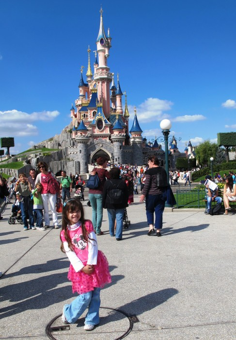Disneyland Paris - 5 anos