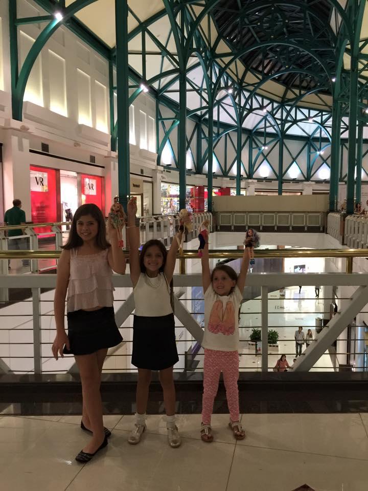 Encontro Mirim entre Amigas Viajantes em São Paulo - com 7 anos e meio
