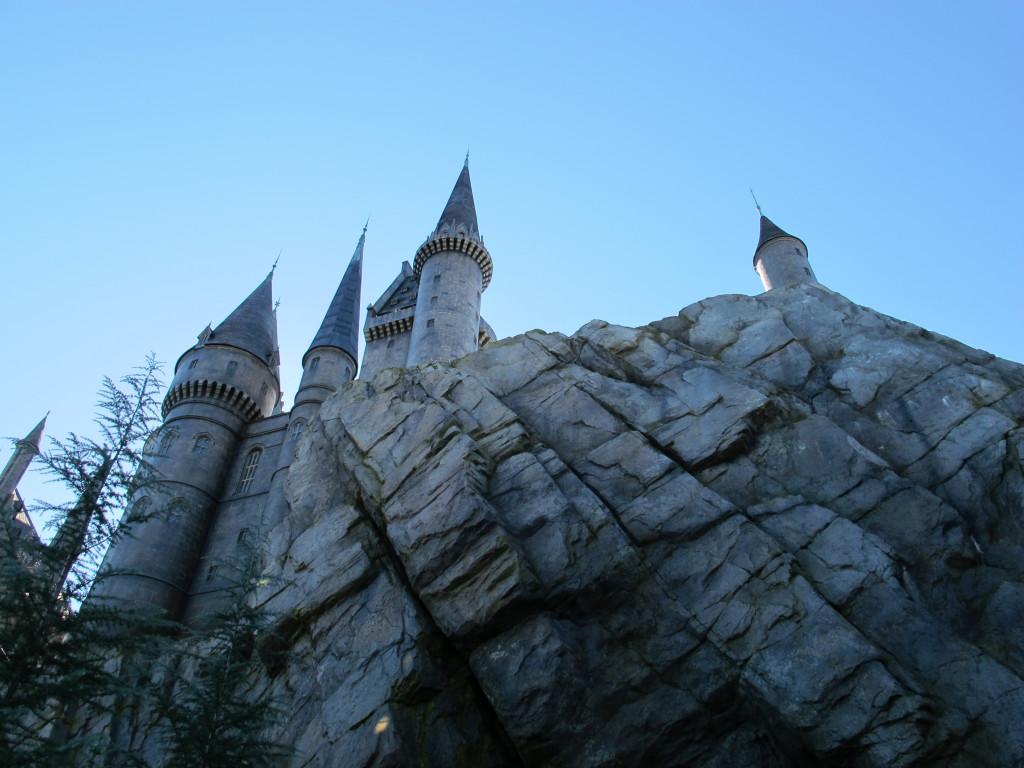 O Castelo de Hogwarts
