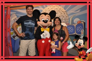 Meet Disney Pals at the Epcot Character Spot