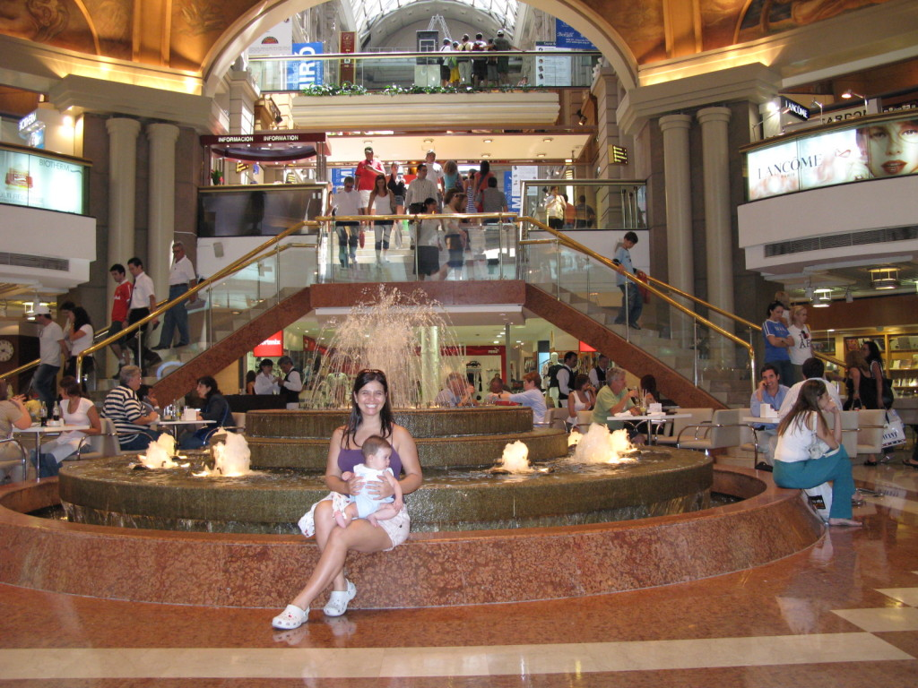 Galerias Pacífico, o Shoping mais lindo.