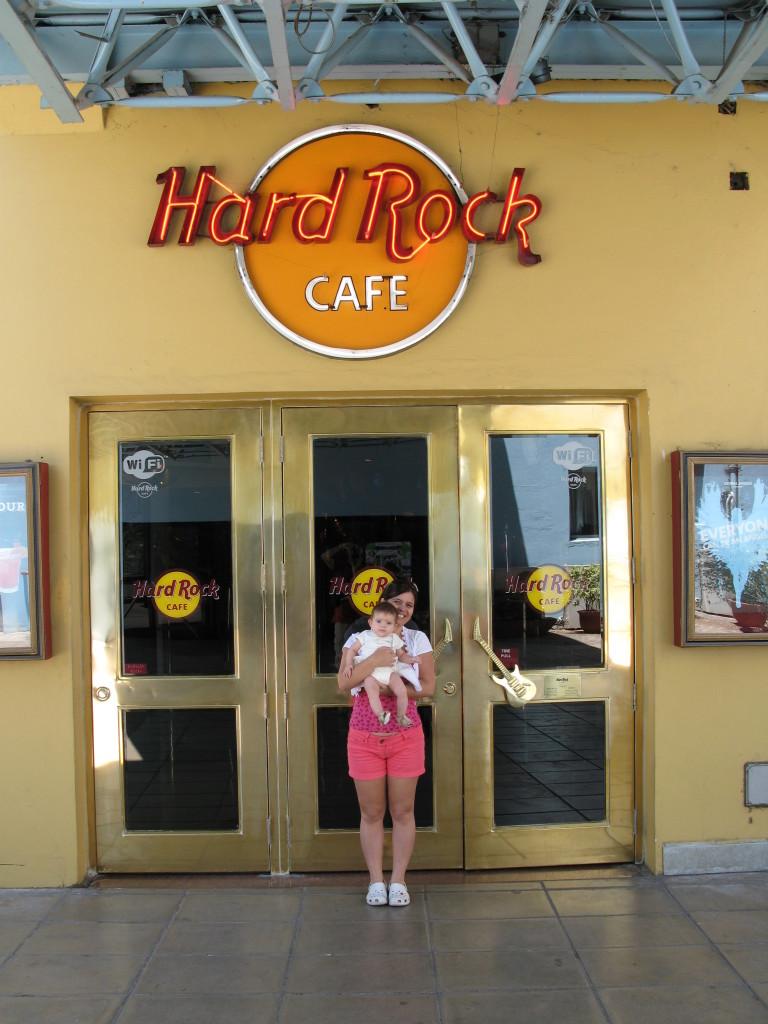 Hard Rock Cafe, parada obrigatória