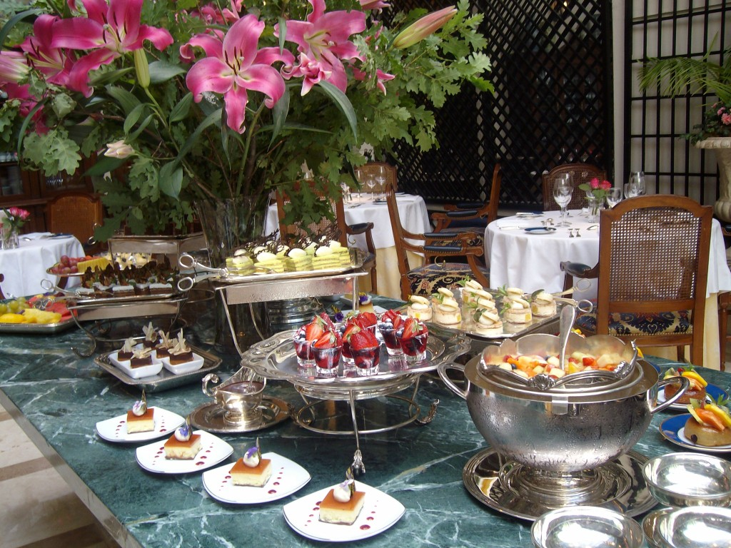 Buffet de Almoço no Hotel ALvear