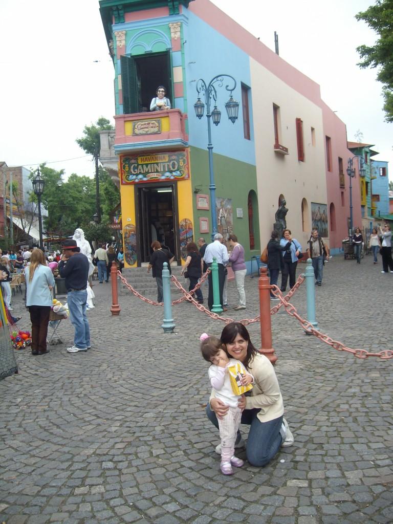 La Boca! Todo city tour passa por lá.