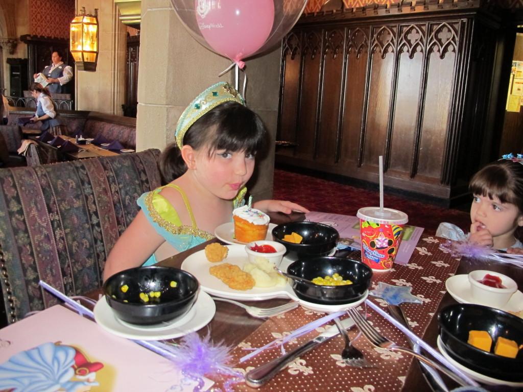 Comemorando aniversário na Disney!
