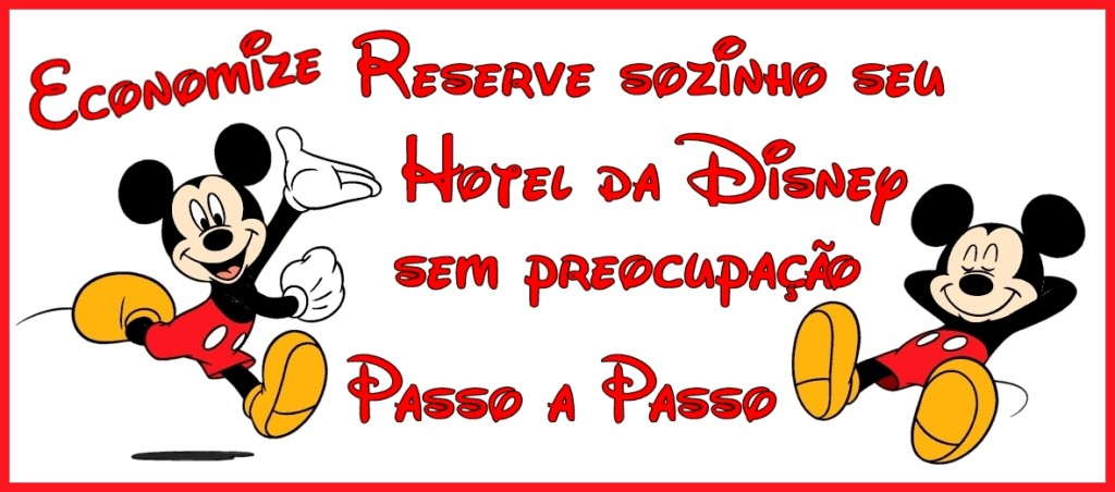Reserve seu Hotel da Disney