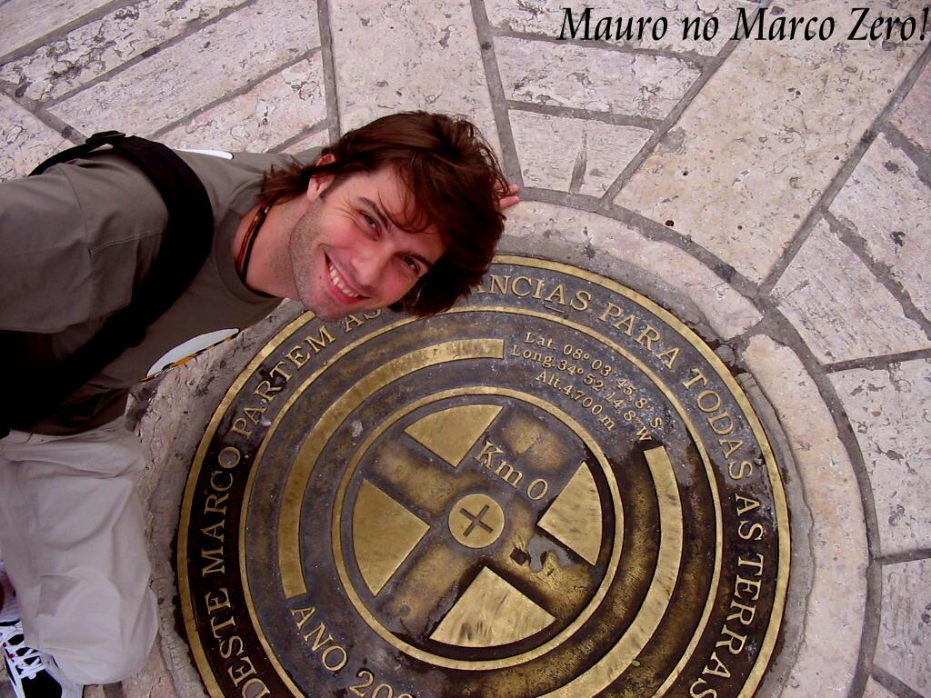 Recife Mauro marco zero