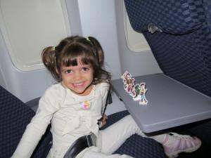 Brincando no Avião!