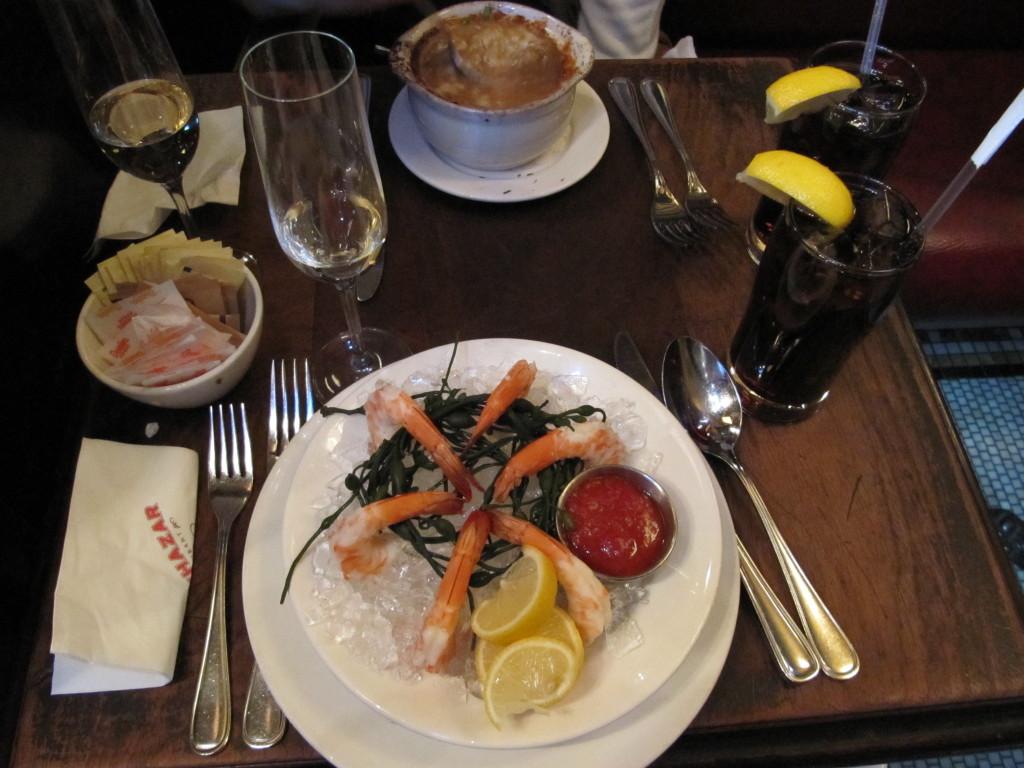 Interior do Restaurante Balthazar NY