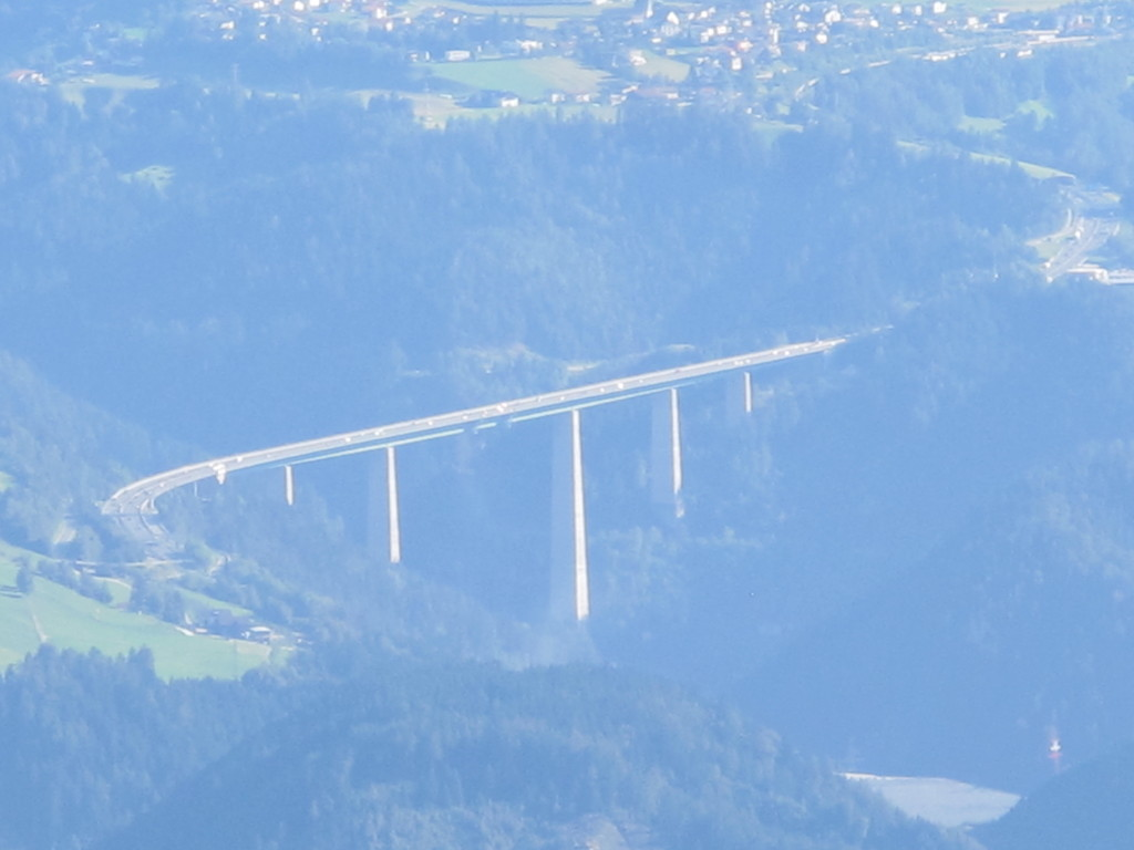 passamos por esta ponte no caminho para Itália