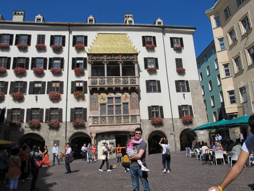 Telhado de Ouro no centro histórico de Innsbruck