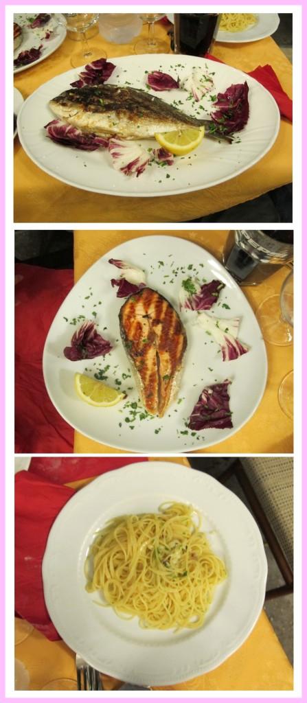 Um jantar bem razoável (um alívio neste dia)