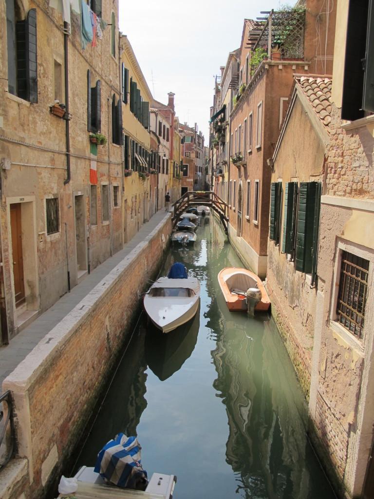Canais muito pitorescos, a cara de Veneza!