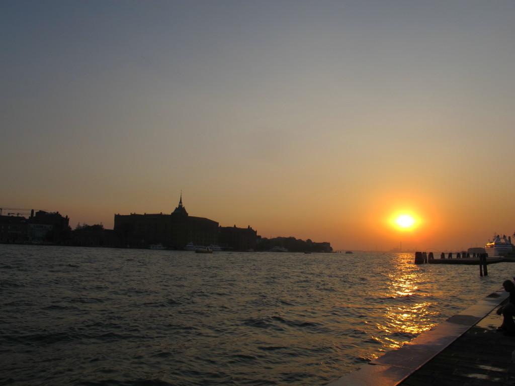 Anoitecendo em Veneza...