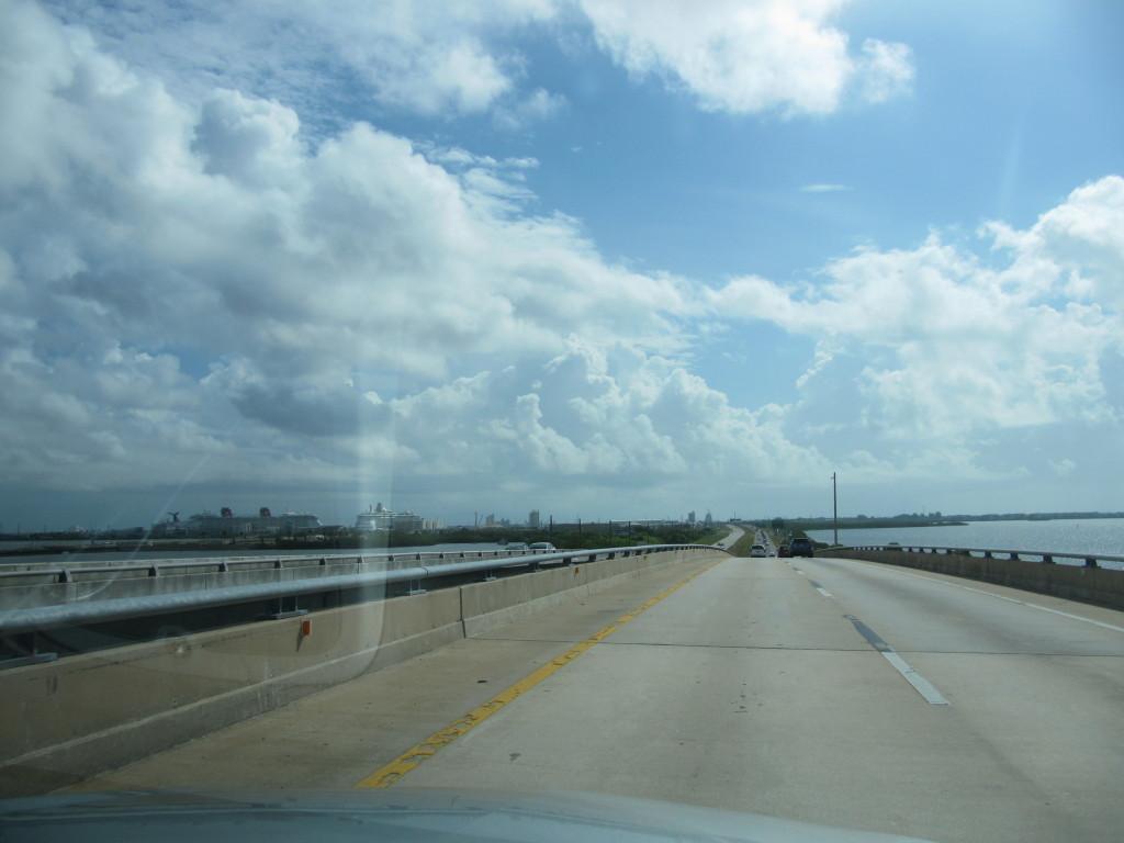 passando pela ponte