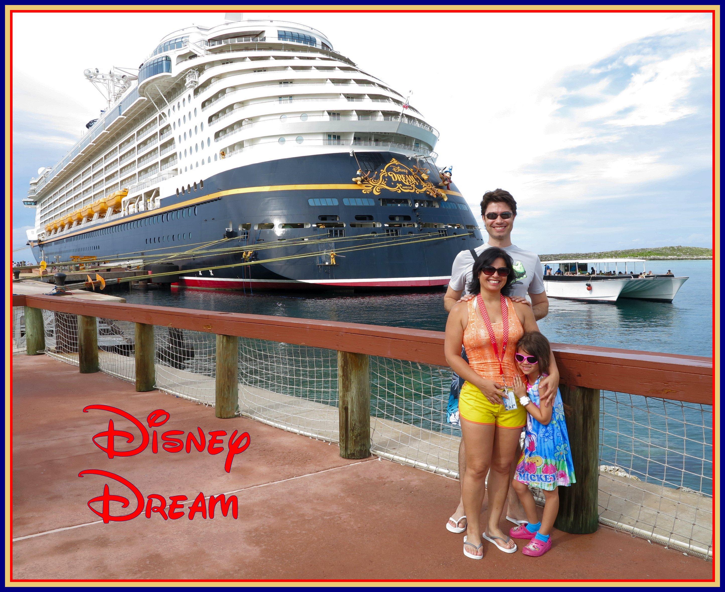 Cruzeiro pelas Bahamas, com magia Disney, no navio Disney Dream!