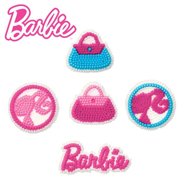 Deocração em glacê da Barbie