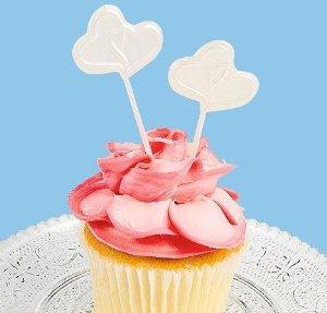 Cupcake picks de casamento