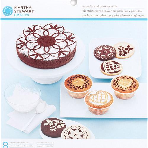 Estêncil para decorar bolos e cupcakes