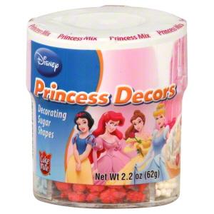 Confetes das princesas