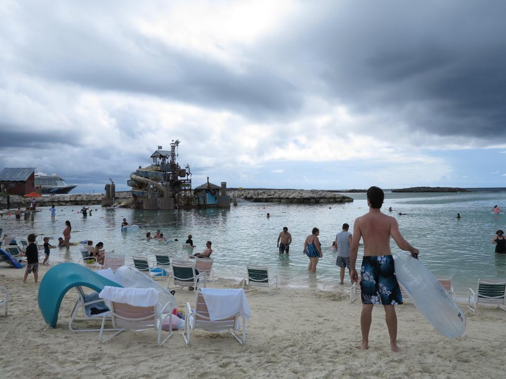 Disney Cruise: Castaway Cay - a praia principal