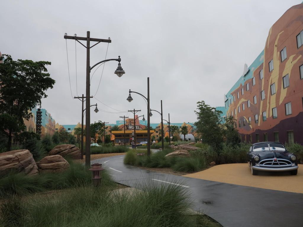 Art of Animation - Área dos  Carros