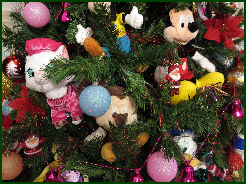 decoracao em arvore de natal : decoracao em arvore de natal:Decoração com personagens da Disney na nossa Árvore de Natal