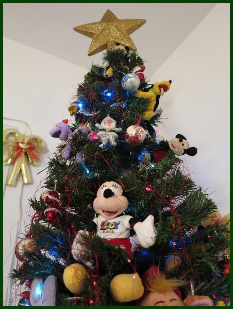 A estrela da árvore, o toque final!