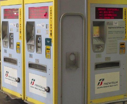 Máquinas para venda de tickets