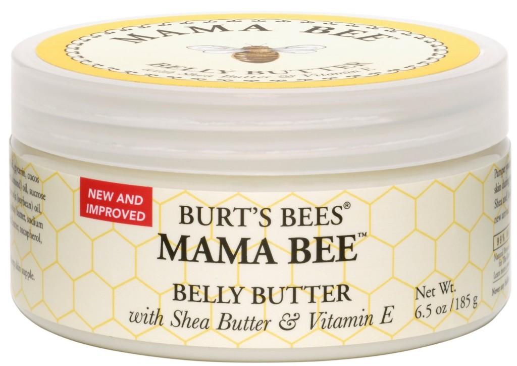 Burt's Bees Mama Bee Belly Butter, manteiga hidratante para barriga.