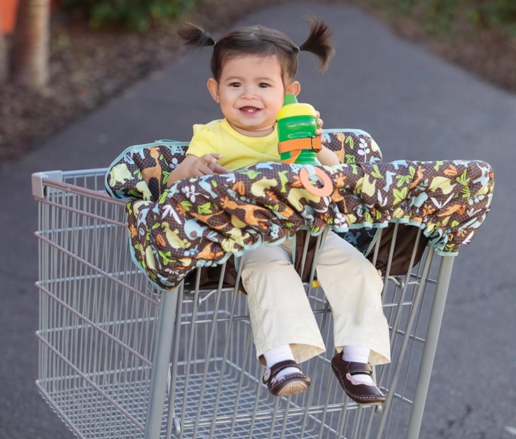 Shopping Car Cover - Almofada para carrinho de supermercado