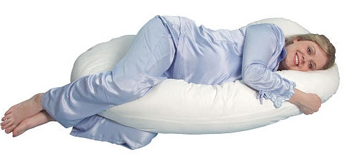 Snoogle Total Body Pillow - travesseiro de corpo inteiro.