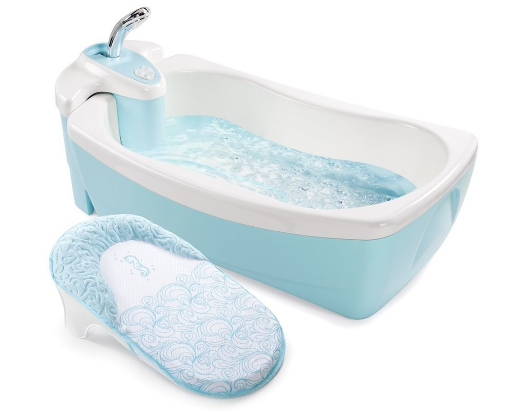 Summer Infant Lil' Luxuries Whirlpool Bubbling Spa and Shower Tub - Hidromassagem para neném.