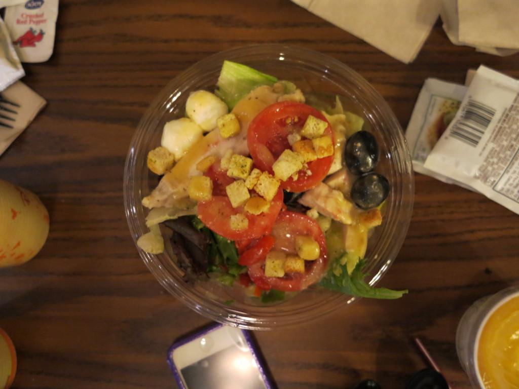 Salada no Pinocchio Village Haus