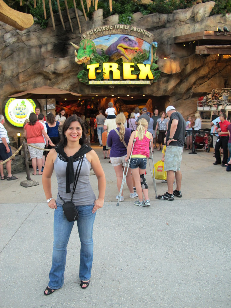 Restaurante T-REX em Downtown Disney