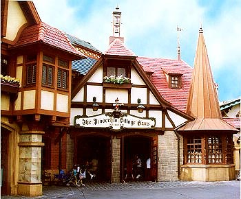 Entrada do Pinocchio Village Haus