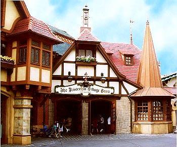 Entrada do Pinocchio Village Haus