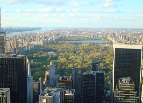 NY vista do Top of the Rock