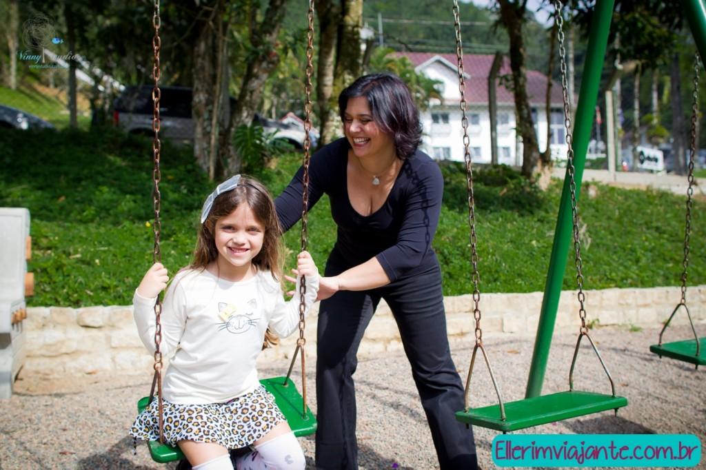 Parque Zoobotânico de Joinville - Parquinho Infantil é diversão garantida.