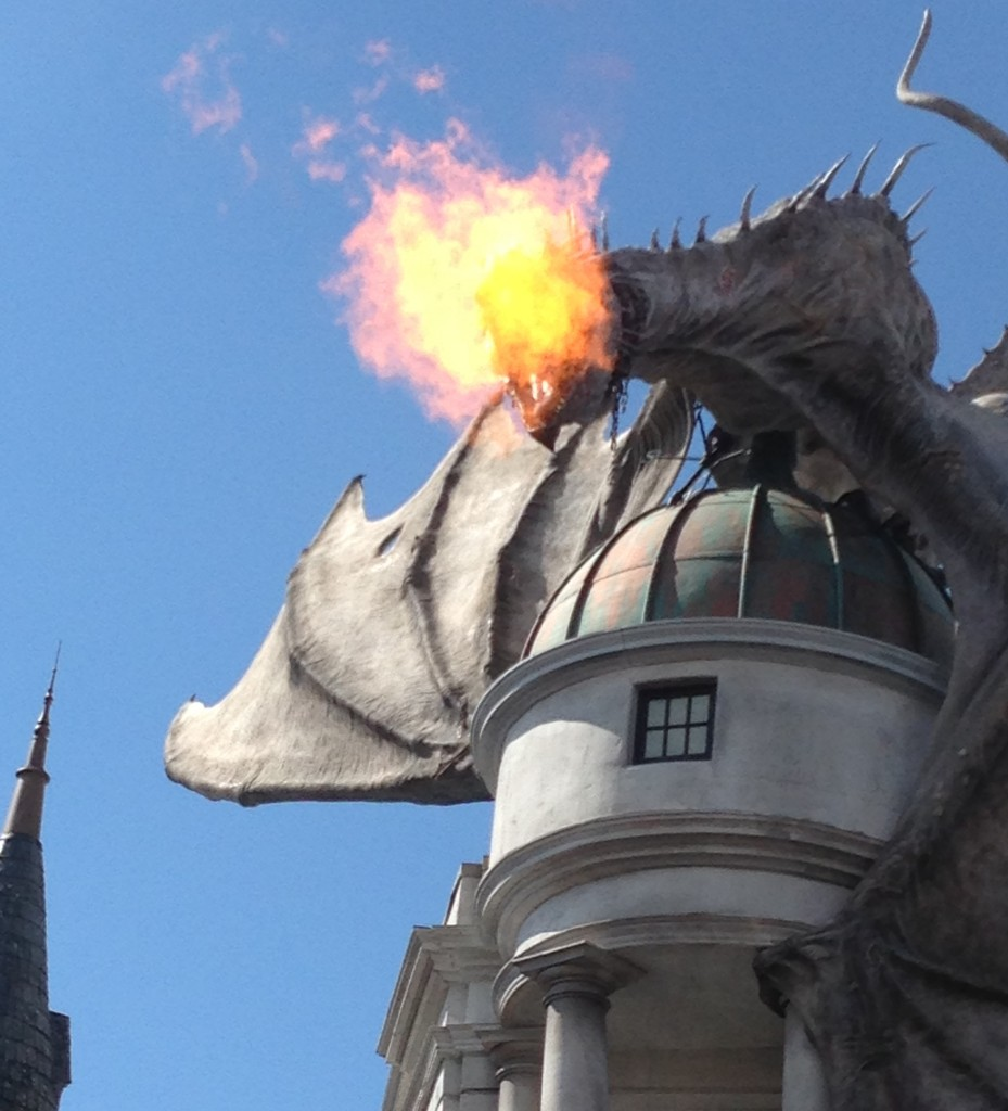 O Dragão de Gringotts
