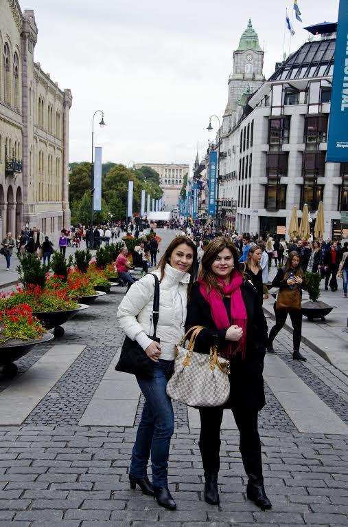 Passeando pelo centro de Oslo
