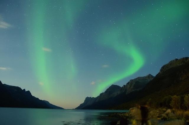 Emoção ao ver pela primeira vez a Auroral Boreal