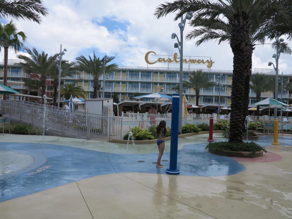 E além desta área infantil tem também uma piscina de correnteza.
