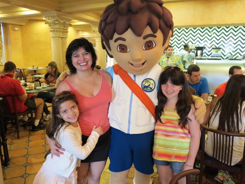 ... e seu primo Diego