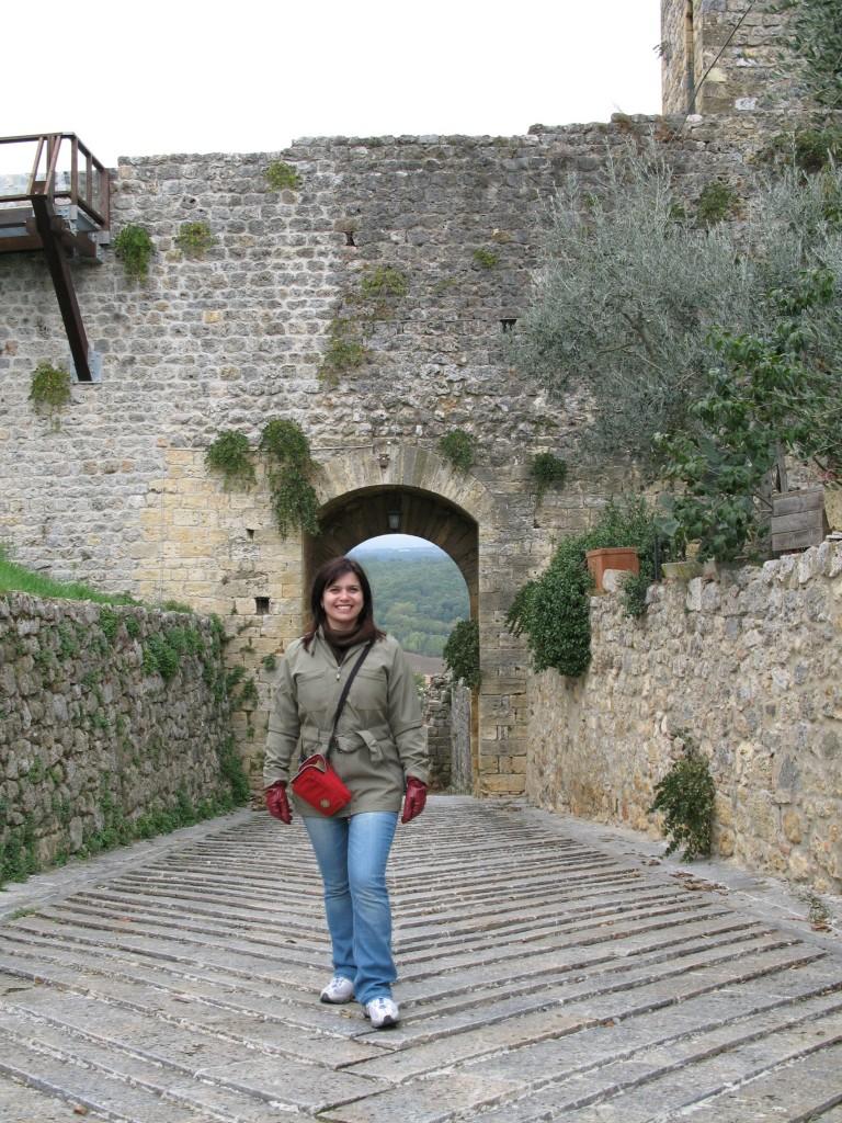 Entrada da Cidade Murada de Monteriggioni