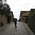 Cidade Murada de Monteriggioni na itália