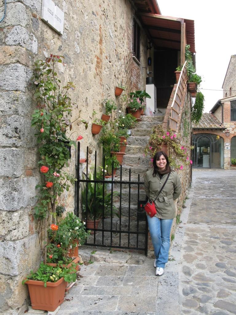 Todas as casinhas bucólicas de Monteriggioni