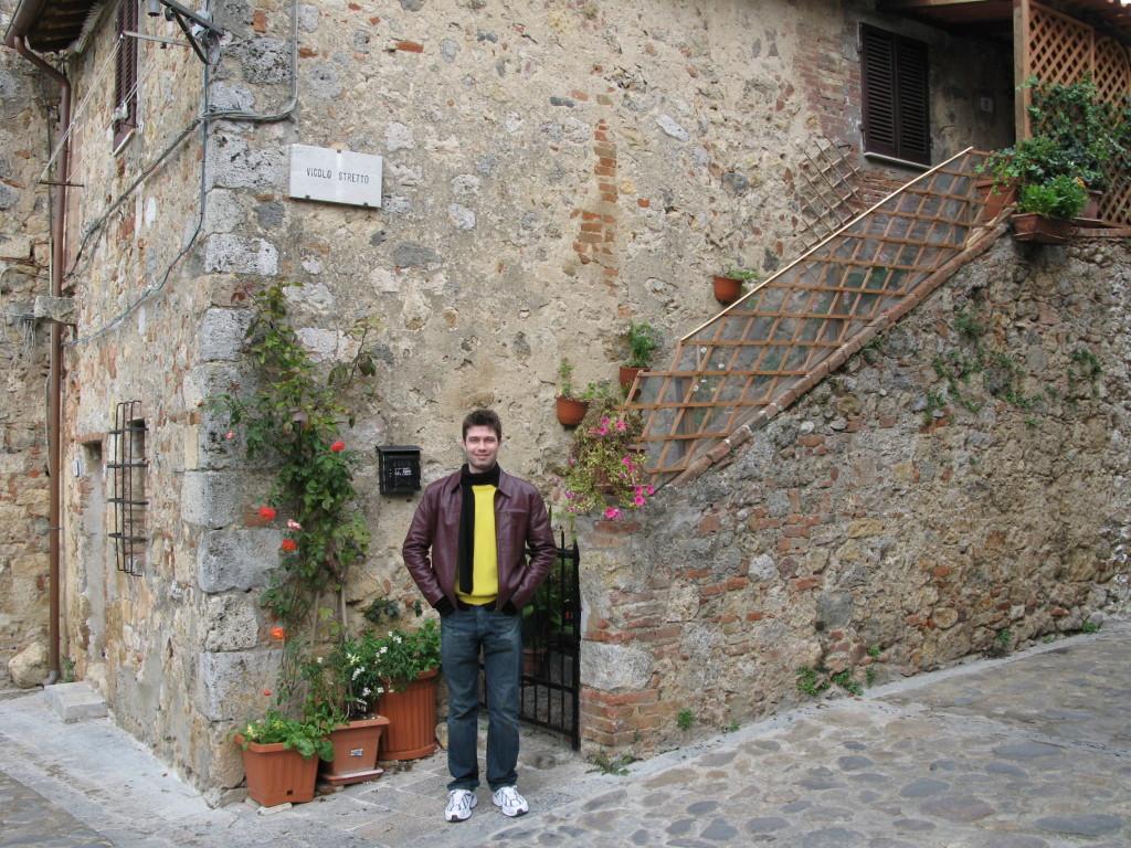 Tudo é encantador em Monteriggioni
