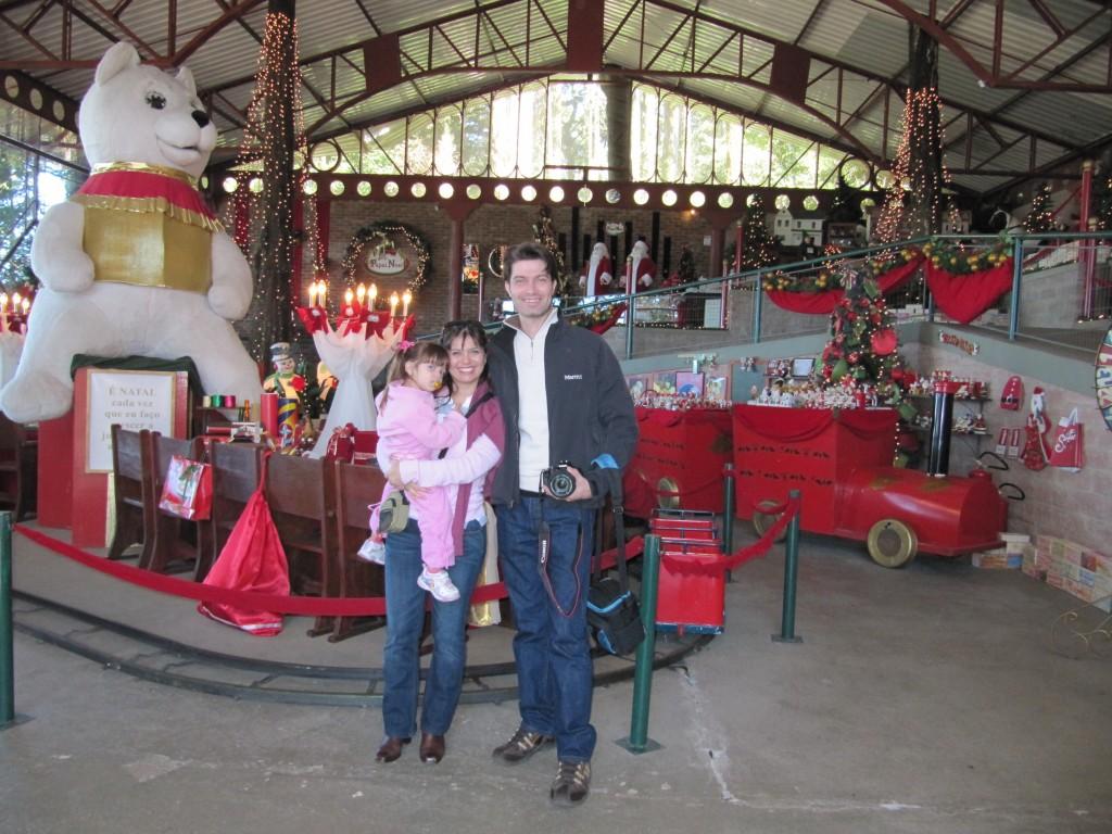 Fábrica do Papai Noel, onde você poderá tirar fotos com ele!